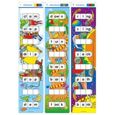 Unifix Word Ladders Blends Flash Cards