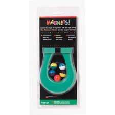 Mini Horseshoe Magnet and 5 Magnet Learning Tool