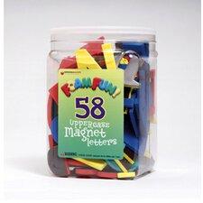 58 Foam Fun Magnets Upper Letters