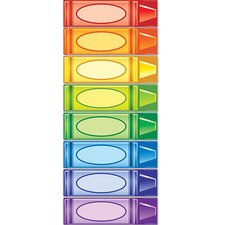 Crayon Signs Mini Bulletin Board Cut Out
