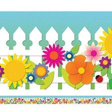 Spring Garden Spotlight Classroom Border (Set of 2)