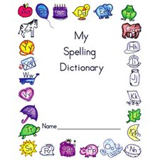My Spelling Dictionary Book (Set of 4)