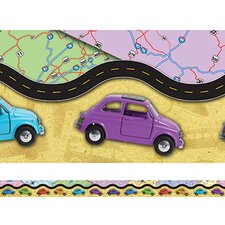 Travel Layered Classroom Border (Set of 2)