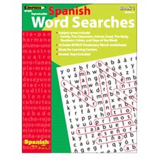 Spanish in a Flash Word Searches Book
