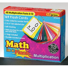 Math in a Multiplication Flash Cards