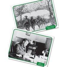 History Soc Studies Flash Cards (Set of 32)