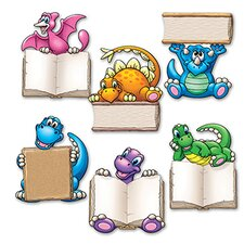 37 Piece Dino Readers Mini Accent Set (Set of 18)
