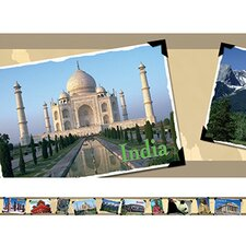 Around The World Photo Classroom Border (Set of 2)