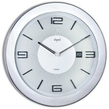 "16"" Stainless Steel Round Case Wall Clock"
