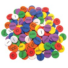 Place Value Disks Grade 3-6 Learning Tool