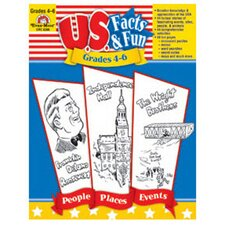 Us Facts and Fun Grade 4-6 Book