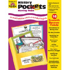 History Pockets Moving West Book