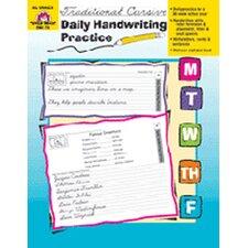 Daily Handwriting Trad. Cursive Book
