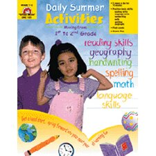 Daily Summer Activities 1st to 2nd Book