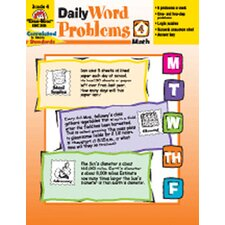 Daily Word Problems Grade 4 Book