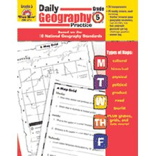 Daily Geography Practice Grade 5 Book