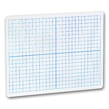 X-Y Axis Dry Erase Whiteboard, 1' x 1'