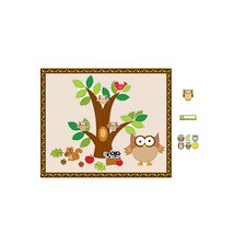 Owl Essentials Bulletin Board Cut Out Set