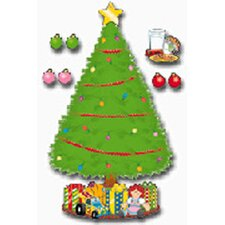 Big Christmas Tree Bulletin Board Cut Out
