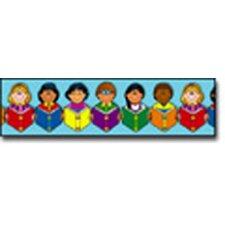 Multicultural Classroom Border (Set of 2)