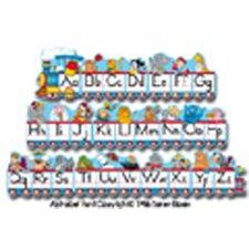 Alphabet Train Zaner Bloser Letters