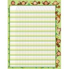 Monkeys Chart (Set of 3)