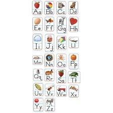 Alphabet Photographic Flash Cards (Set of 3)