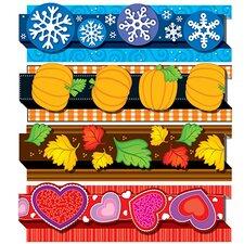Seasonal Pop-its Classroom Border Set