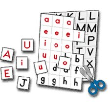 Individual Making Words Letters