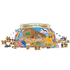 Noahs Ark Bulletin Board Cut Out