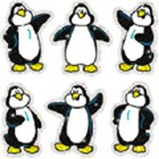 Dazzle Penguins Sticker