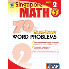 70 Must Know Word Problems Level 2 Book
