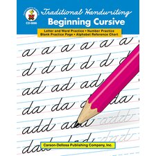 Traditional Handwriting Beginning Book