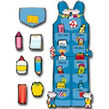 Overalls Job Assignment Bulletin Board Cut Out Set