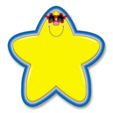 "Star Cutouts, 5-1/4""x5-1/4"", 36 Pieces, Yellow/Blue (Set of 2)"