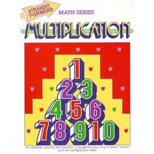 Multiplication Straight Forward Book (Set of 4)