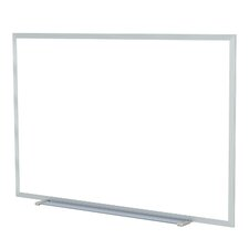 Aluminum Frame Painted Steel Magnetic Whiteboard