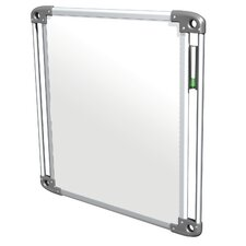 Nexus Tablet Double-Sided Portable Wall Mounted Whiteboard, 2' x 2'