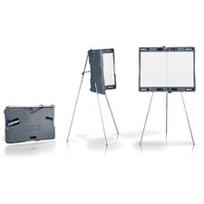 Attivo Portable Presentation Whiteboard Easel with Carrying Case