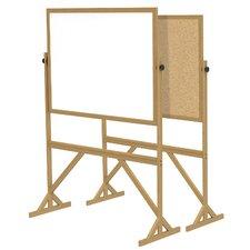 Acrylate Reversible Whiteboard, 7' x 6'