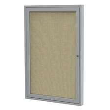 1 Door Enclosed Bulletin Board