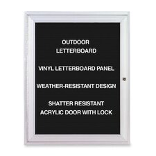 Outdoor Enclosed Letter Board, 3' x 2'