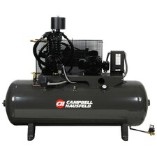 80 Gallon Two Stage 7.5 HP Fully Packaged Air Compressor