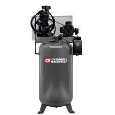 80 Gallon 5 HP 230V 3 Phase Two Stage Air Compressor