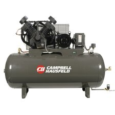 120 Gallon 10 HP Two Stage 3 Phase Fully Packaged Air Compressor with Starter