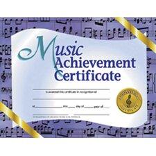 Music Achievement Certificate (Set of 30)