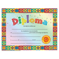 Diploma Spanish Certificate (Set of 30)