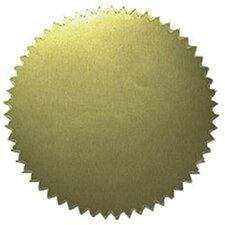 Gold Blank Sticker (Set of 100)