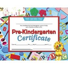 Pre-kindergarten Certificate (Set of 30)