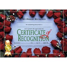 Recognition Certificate (Set of 30)